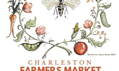 Charleston Farmers Market 2015  Unsigned: $18