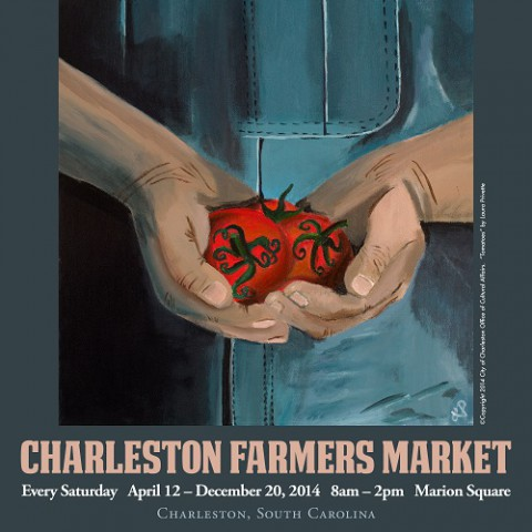 Charleston Farmers Market 2014 <br> Unsigned: $8