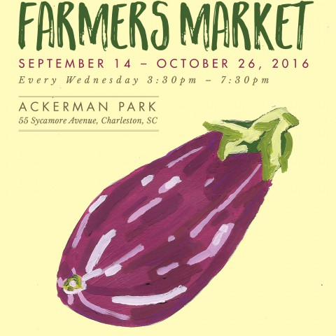 West Ashley Farmers Market 2016 <br> $18
