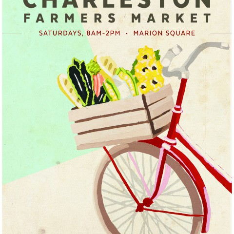 Charleston Farmers Market 2017 <br> $18