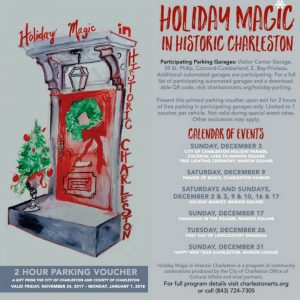 Holiday Magic Historic Charleston Parking Voucher
