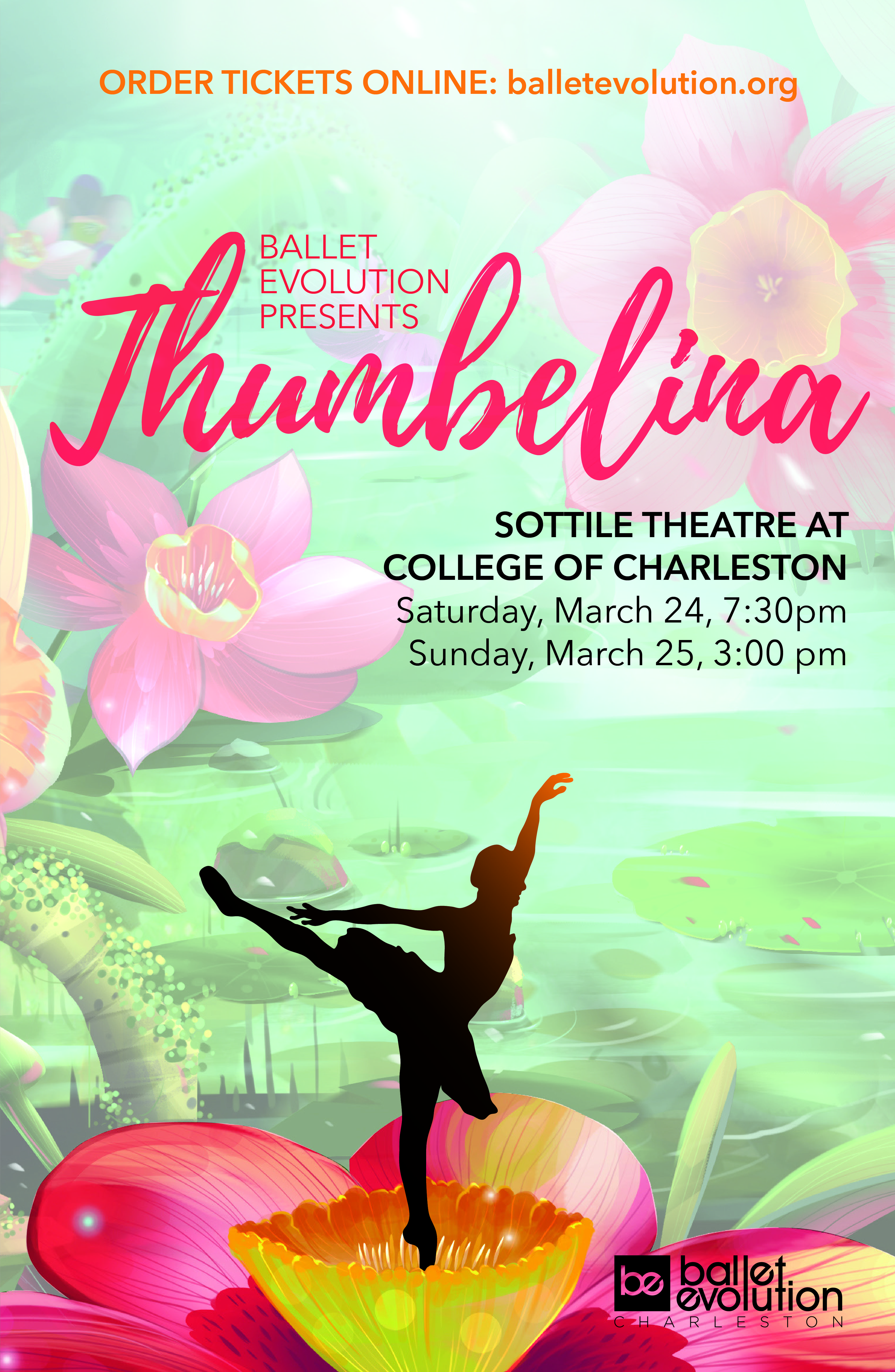 upcoming events ballet evolution presents thumbelina