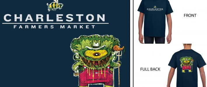 Charleston Farmers Market Youth T-Shirt M  $20 pick up only