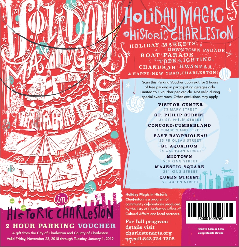 Holiday Magic Parking Voucher