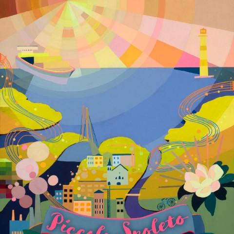 Piccolo Spoleto 2021 Poster <br> $20